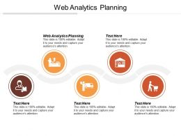 Web Analytics Planning Ppt Powerpoint Presentation Gallery Graphics Pictures Cpb