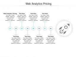 Web Analytics Pricing Ppt Powerpoint Presentation Show Microsoft Cpb