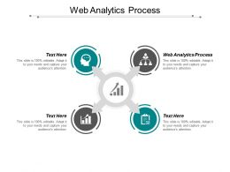 Web Analytics Process Ppt Powerpoint Presentation Portfolio Design Ideas Cpb