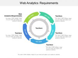 Web Analytics Requirements Ppt Powerpoint Presentation Inspiration Designs Download Cpb