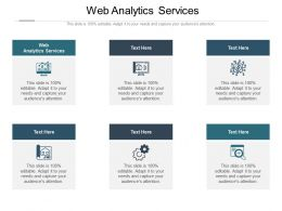 Web Analytics Services Ppt Powerpoint Presentation Professional Show Cpb