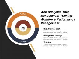 Web Analytics Tool Management Training Workforce Performance Management
