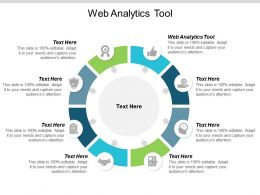 Web Analytics Tool Ppt Powerpoint Presentation Pictures Cpb
