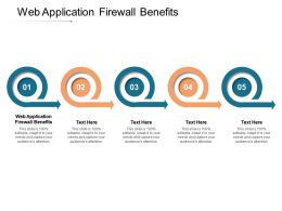 Web Application Firewall Benefits Ppt Powerpoint Presentation Styles Guide Cpb