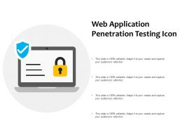 Web Application Penetration Testing Icon