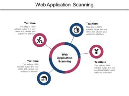 Web Application Scanning Ppt Powerpoint Presentation Slide Cpb