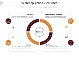 Web Application Securities Ppt Powerpoint Presentation Styles Slideshow Cpb