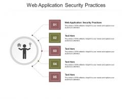 Web Application Security Practices Ppt Powerpoint Presentation Gallery Show Cpb