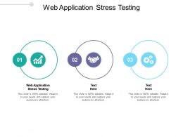 Web Application Stress Testing Ppt Powerpoint Presentation Infographics Graphics Template Cpb