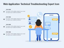Web Application Technical Troubleshooting Expert Icon
