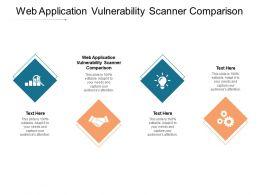 Web Application Vulnerability Scanner Comparison Ppt Powerpoint Presentation Infographics Graphics Cpb