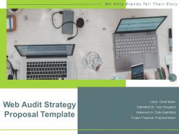 Web Audit Strategy Proposal Template Powerpoint Presentation Slides