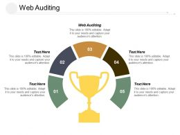 Web Auditing Ppt Powerpoint Presentation Infographics Gridlines Cpb