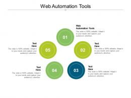 Web Automation Tools Ppt Powerpoint Presentation Slides Graphics Tutorials Cpb