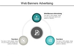 Web Banners Advertising Ppt Powerpoint Presentation Infographic Template Example Topics Cpb