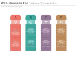 web_banners_for_business_communication_flat_powerpoint_design_Slide01
