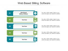 Web Based Billing Software Ppt Powerpoint Presentation Icon Graphics Cpb