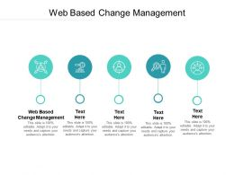 Web Based Change Management Ppt Powerpoint Presentation File Summary Cpb