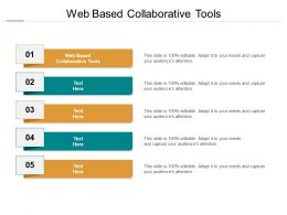 Web Based Collaborative Tools Ppt Powerpoint Presentation Icon Graphics Cpb