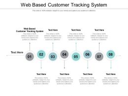 Web Based Customer Tracking System Ppt Powerpoint Presentation Gallery Introduction Cpb