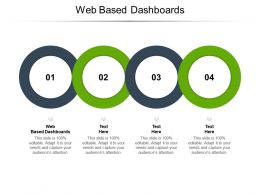 Web Based Dashboards Ppt Powerpoint Presentation Styles Tips Cpb