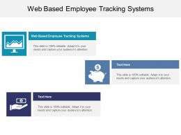 Web Based Employee Tracking Systems Ppt Powerpoint Presentation Infographic Cpb