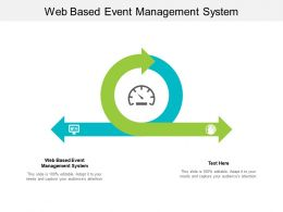 Web Based Event Management System Ppt Powerpoint Show Templates Cpb