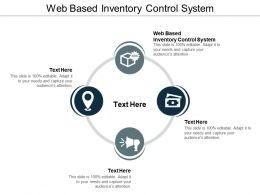 Web Based Inventory Control System Ppt Powerpoint Presentation Styles Layout Cpb