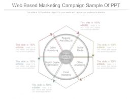 Web Based Marketing Campaign Sample Of Ppt