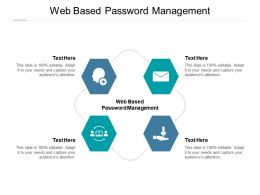 Web Based Password Management Ppt Powerpoint Presentation Gallery Example Cpb