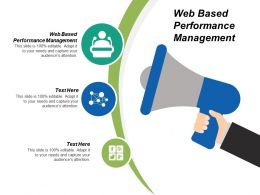 Web Based Performance Management Ppt Powerpoint Presentation Model Format Cpb