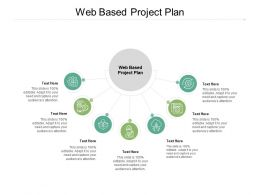 Web Based Project Plan Ppt Powerpoint Presentation Show Deck Cpb