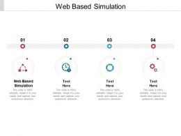 Web Based Simulation Ppt Powerpoint Presentation Infographic Template Professional Cpb