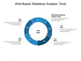 Web Based Statistical Analysis Tools Ppt Powerpoint Presentation Outline Clipart Images Cpb