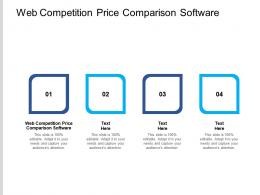 Web Competition Price Comparison Software Ppt Powerpoint Presentation Styles Graphics Cpb