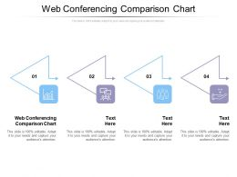 Web Conferencing Comparison Chart Ppt Powerpoint Presentation Icon Example Introduction Cpb