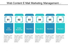 Web Content E Mail Marketing Management Development Programs Skills Management Cpb