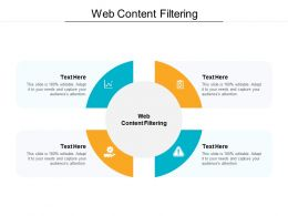 Web Content Filtering Ppt Powerpoint Presentation Outline Ideas Cpb