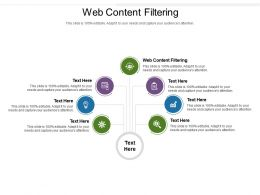 Web Content Filtering Ppt Powerpoint Presentation Styles Objects Cpb