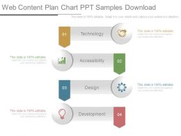 Web Content Plan Chart Ppt Samples Download