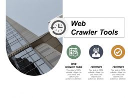 Web Crawler Tools Ppt Powerpoint Presentation Infographics Icons Cpb