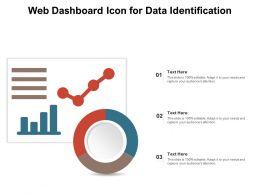 Web Dashboard Icon For Data Identification