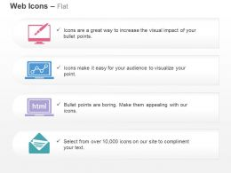 web_design_coding_growth_chart_business_mail_ppt_icons_graphics_Slide01