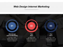 Web Design Internet Marketing Ppt Powerpoint Presentation Infographics File Formats Cpb