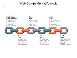Web Design Market Analysis Ppt Powerpoint Presentation Slides Samples Cpb