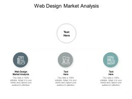 Web Design Market Analysis Ppt Powerpoint Presentation Styles Gallery Cpb