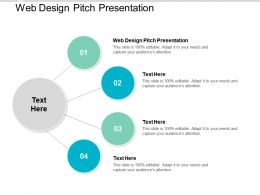 Web Design Pitch Presentation Ppt Powerpoint Presentation Layouts Background Images Cpb