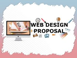 Web Design Proposal Powerpoint Presentation Slides
