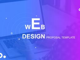 Web Design Proposal Template Powerpoint Presentation Slides