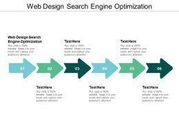Web Design Search Engine Optimization Ppt Powerpoint Presentation Inspiration Model Cpb